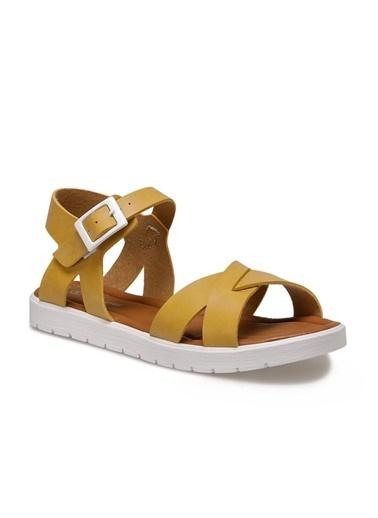 Pink Step Sandalet Sarı